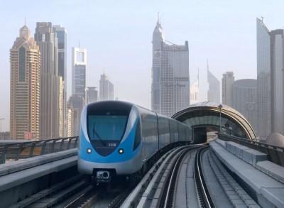 Metro-in-Dubai